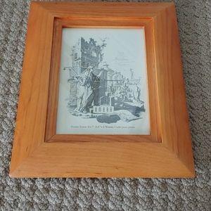 Umbra wooden picture frame